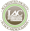 Intersocietal Accreditation Commission Accredited Facility for Echocardiography graphic logo