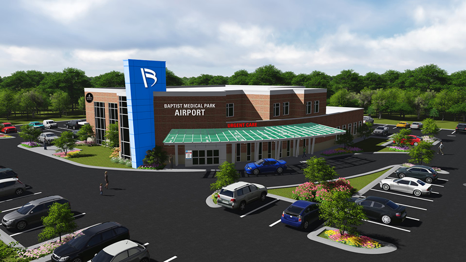 Render of Baptist Medical Park - Airport
