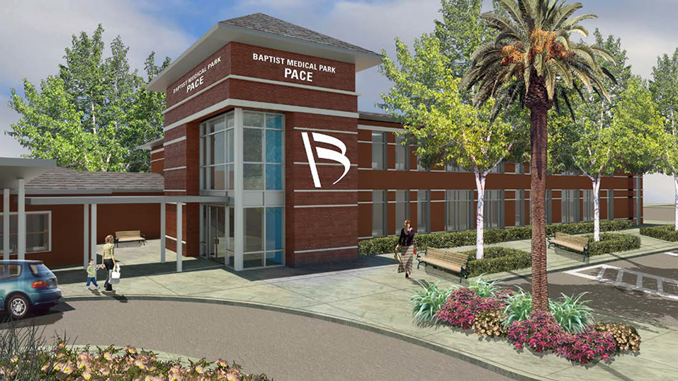 Render of Baptist Medical Park - Pace
