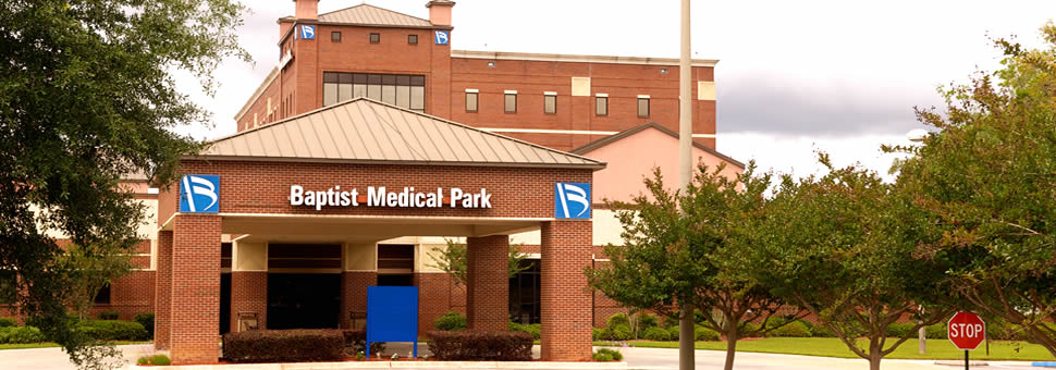 Baptist Medical Park Nine Mile front entrance