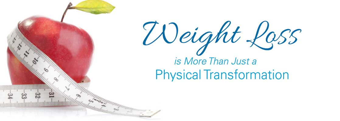 Image saying 'Weight Loss is more than just a physical transformation.'