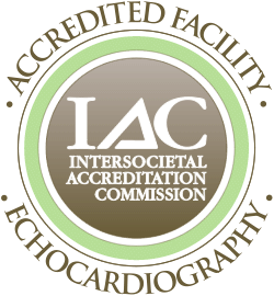 Intersocietal Accreditation Commission Accredited Facility for Echocardiography