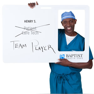 Henry is a Team Player at Baptist Health Care