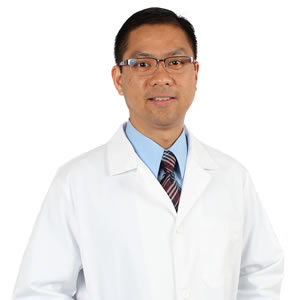 Photo of Patrick Gatmaitan, M.D., bariatric surgeon